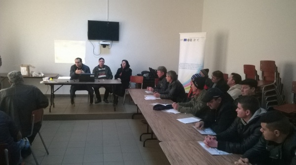 """La Ciupercenii Noi a avut loc conferinta """"Dezvoltarea competentelor teoretice si practice în domeniul agricol si protectiei mediului al fermierilor din GAL Calafat"""""""