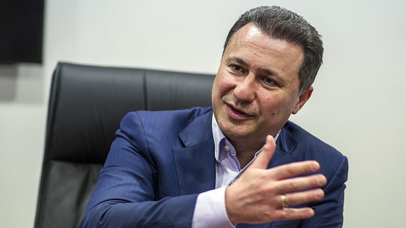 Gruevszki menekültstátusza - Az EP a volt macedón kormányfő kiadására szólította fel Magyarországot