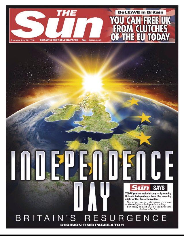 brexit the sun