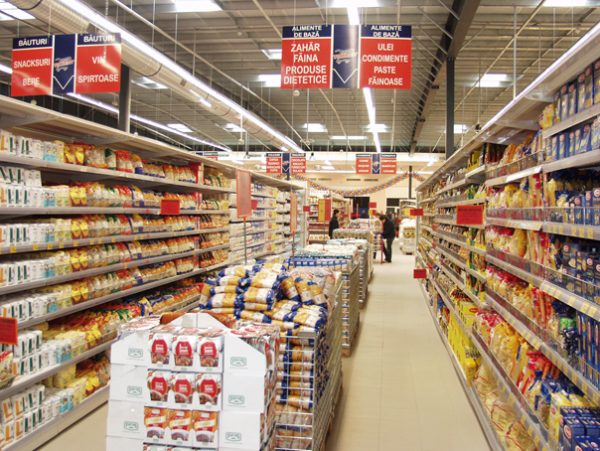 Supermarketul Trident a fost inaugurat, luni. la Deva