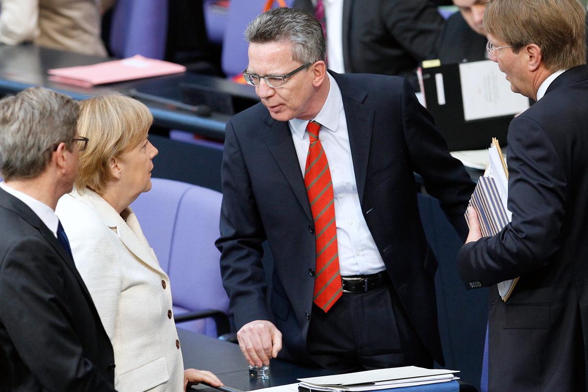 Angela-Merkel-Thomas-de-Maizière