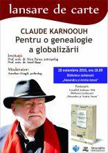 Lansare Claude Biblioteca