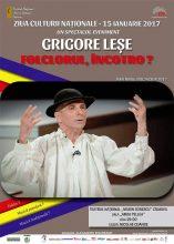 TNC afis Grigore Lese