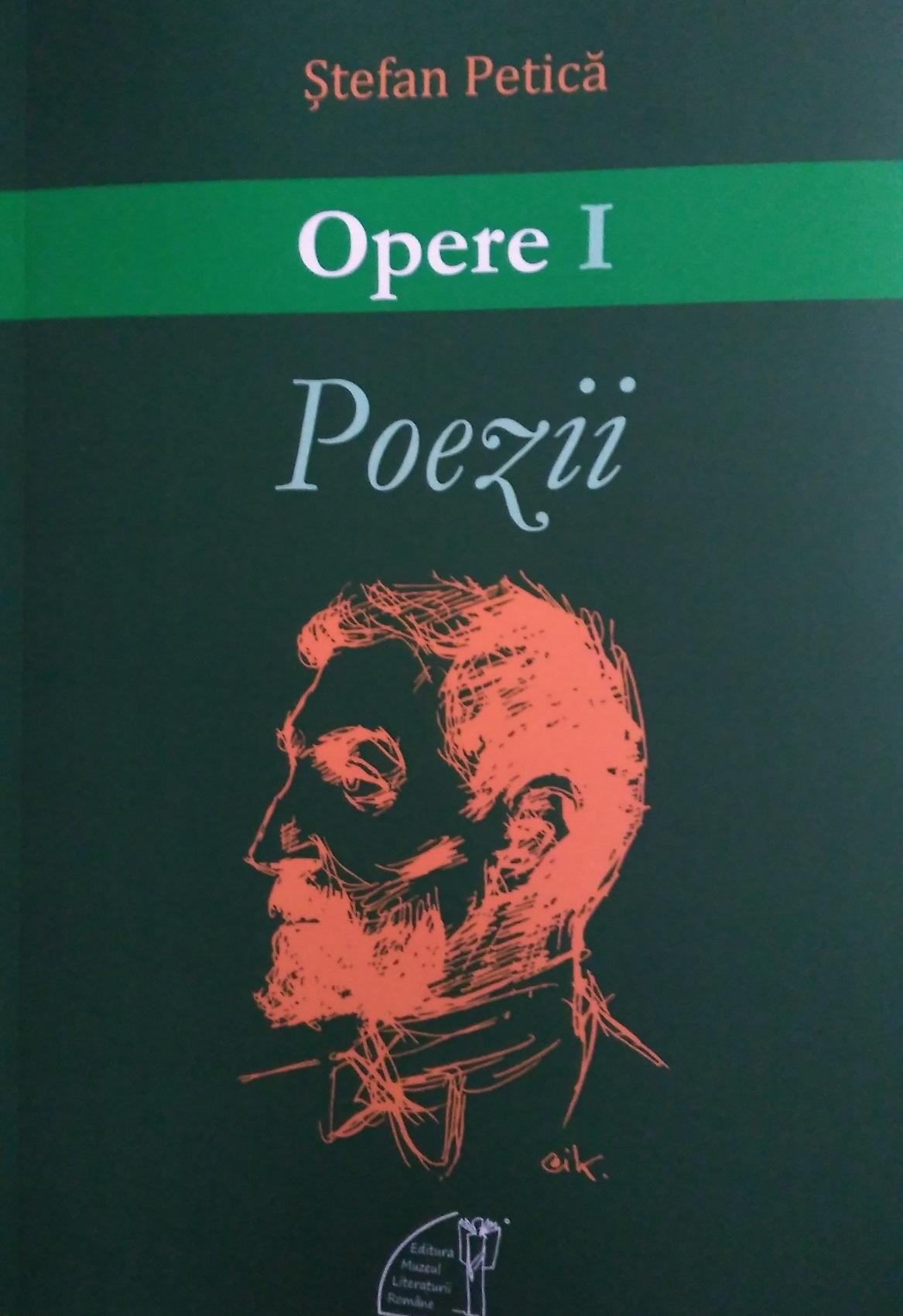 copertă volum Poezii St Petică