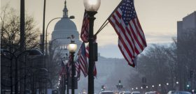 The Capitol in Washington, is seen at dawn, Wednesday, Jan. 18, 2017, as the city prepares for Friday's inauguration of Donald Trump as president. (AP Photo/J. Scott Applewhite)/DCSA103/17018478986269/1701181440