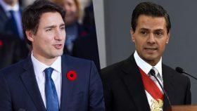 Justin Trudeau si Enrique Pena Nieto