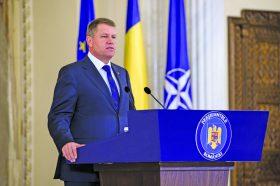 Presedintele Klaus Iohannis sustine la palatul Cotroceni o conferinta de presa, anuntand propunerea lui Eduard Hellvig pentru functia de director al Serviciului Roman de Informatii (SRI).
