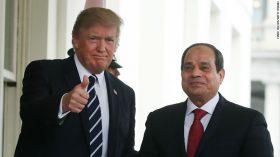 Donald Trump Abdel Fattah el-Sisi